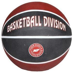New Port Print Mini basketbalový míč hnědá - č. 3