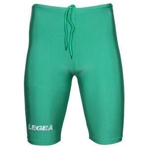Legea Corsa elastické šortky zelená - M