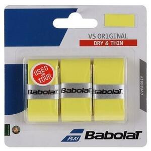 Babolat VS Original overgrip omotávka tl. 0,4 mm žlutá - 3 ks