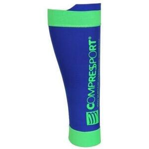 CompresSport R2 V2 kompresní návleky na lýtka modrá - T2