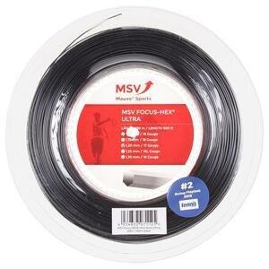 MSV Focus HEX Ultra tenisový výplet 200 m černá - 1,25