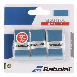 Babolat VS Original overgrip omotávka tl. 0,4 mm modrá - 3 ks