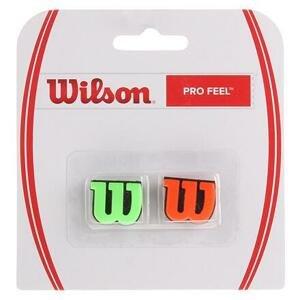 Wilson Pro Feel vibrastop zelená-oranžová - blistr 2 ks