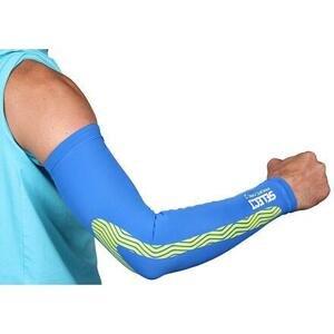 Select Compression Sleeves kompresní návleky na ruce modrá - S