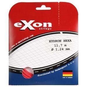 Exon Hydron Hexa tenisový výplet 11,7 m červená - 1,24