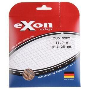 Exon Duo Soft tenisový výplet 11,7 m černá-zlatá - 1,30