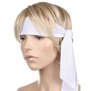 Merco Extra Dry sportovní čelenka bílá
