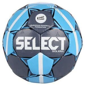 Select HB Solera 2019 míč na házenou šedá-modrá - č. 3