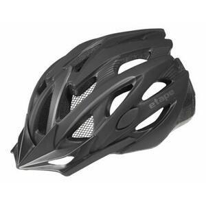 Etape Biker cyklistická helma černá - S/M (55-58 cm)