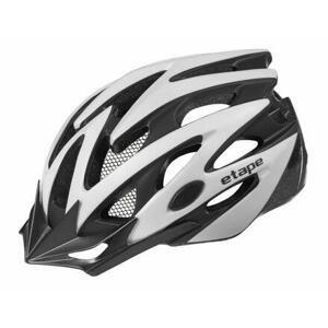 Etape Biker cyklistická helma stříbrná - S/M (55-58 cm)