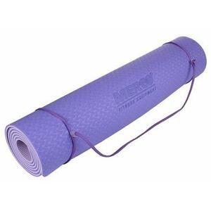 Merco Yoga TPE 6 Double Mat podložka na cvičení fialová-fialová