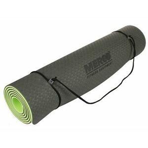 Merco Yoga TPE 6 Double Mat podložka na cvičení černá-zelená