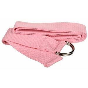 Merco Yoga Strap pás na jógu růžová