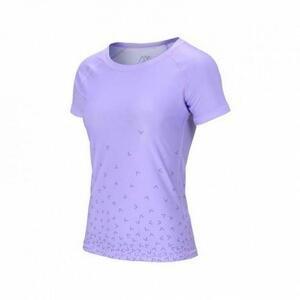 Aqua Marina Dámské lycrové triko DAZZLED LILA, kr. rukáv - L