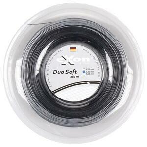 Exon Duo Soft tenisový výplet 200 m černá-stříbrná - 1,20