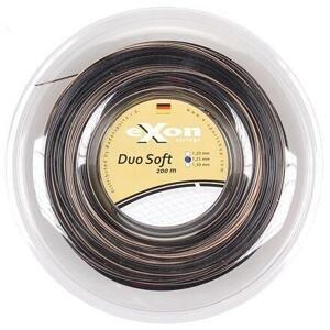 Exon Duo Soft tenisový výplet 200 m černá-zlatá - 1,25
