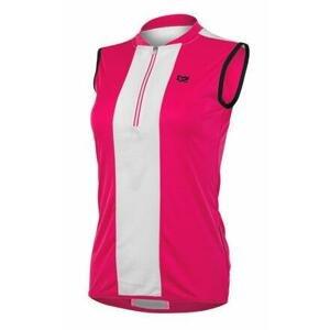 Etape Pretty cyklistický dres růžová - S