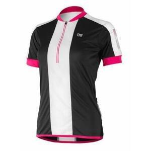 Etape Nelly cyklistický dres černá - L