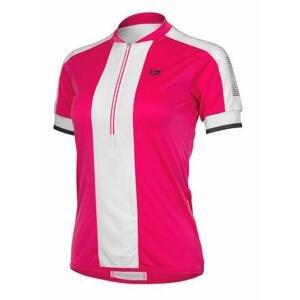 Etape Nelly cyklistický dres růžová - M