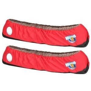 Howies Skate Guards JR chrániče bruslí červená