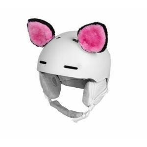 Etape Funny Kit dekorace na přilbu růžová-černá