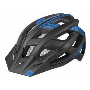 Etape Escape cyklistická helma černá-modrá - L/XL (58-61 cm)