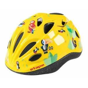 Etape Pony dětská cyklistická helma žlutá - S/M 52-56 cm