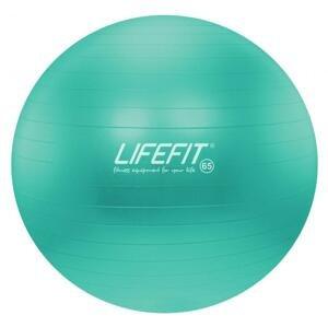 Lifefit Gymnastický míč Anti-burst 65 cm tyrkysový