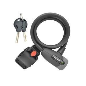 Nexelo Supreme Guard 8X1500 Spirála Klíč černý zámek
