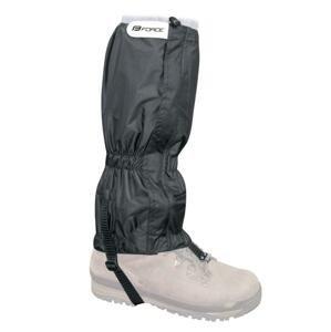 Force Návleky SKI RIPSTOP UNI nad boty, černé
