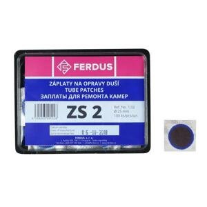 FERDUS Lepení-záplata ZS2 kulatá 25mm box 100ks