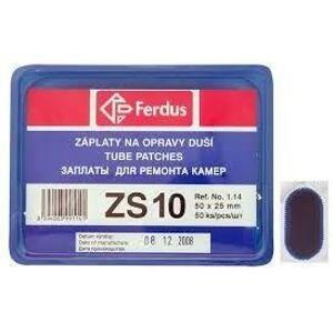 Ferdus ZS-10 50X25mm BOX 50KS záplaty
