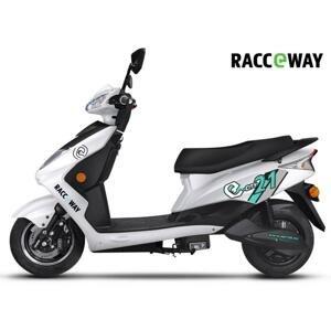 Racceway Elektrický motocykl CITY 21 + sleva 1500,- na příslušenství - Bílá
