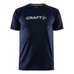 Craft CORE Unify Logo 1911786 funkční triko - XXL - tmavě modrá