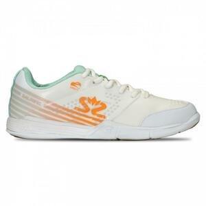 SALMING Viper 5 Shoe Women White/PaleBlue - EU 40,5 - UK 7 - 26 cm