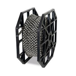 Kmc řetěz X-10.73 stř/šedý dílenské balení 50 m + 40 spojek