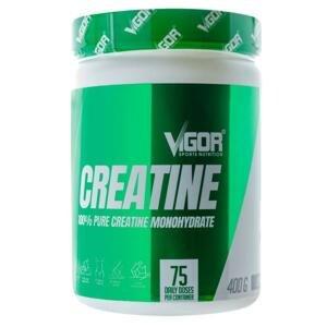Vigor 100% Pure Creatine Monohydrate 400g - bez příchutě
