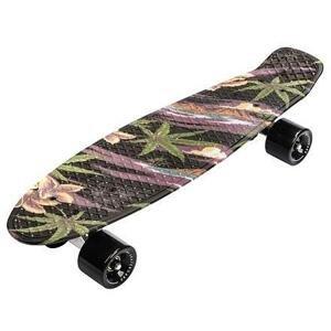Meteor Flip Multi plastový skateboard černá