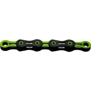 Kmc X10 DLC Zeleno/černý BOX řetěz
