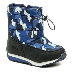 Wojtylko 4Z21033 modrá maskáč dětské zimní sněhulky - EU 34