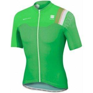 Sportful B FIT PRO RACE JER zelená L - Cyklistický dres