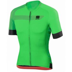 Sportful VELOCE JERSEY zelená XL - Cyklistický dres