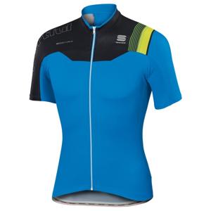 Sportful B FIT PRO TEAM JERSEY zelená XL - Cyklistický dres