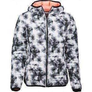 Lotto III BOMBER W CZ L bílá S - Dámská zimní bunda