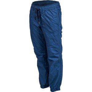 Lewro LOREN modrá 116-122 - Dětské zateplené kalhoty