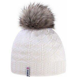 Kama ČEPICE MERINO BAMBULE bílá UNI - Zimní čepice
