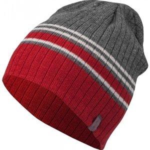 Lewro ABSOL šedá 8-11 - Chlapecká pletená čepice