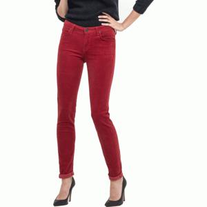 Lee SCARLETT RED červená 29/33 - Dámské kalhoty