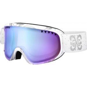 Bolle SCARLET AURORA bílá NS - Moderní dámské sjezdové brýle