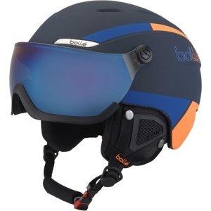 Bolle B-YOND VISOR tmavě modrá (54 - 58) - Sjezdová helma